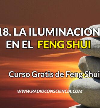 iluminación en el Feng Shui