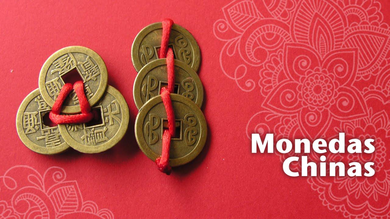 Las monedas chinas atraen la buena suerte