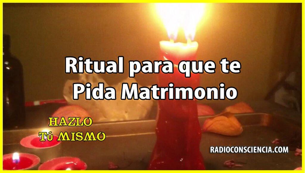 Ritual para que te Pida Matrimonio