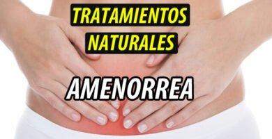 TRATAMIENTO NATURAL AMENORREA