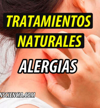 TRATAMIENTO NATURAL alergias