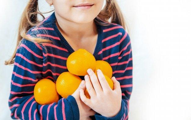 Alimentos ricos en Vitamina A y C.