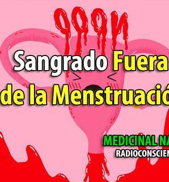 sangrado fuera menstruación menstruacion