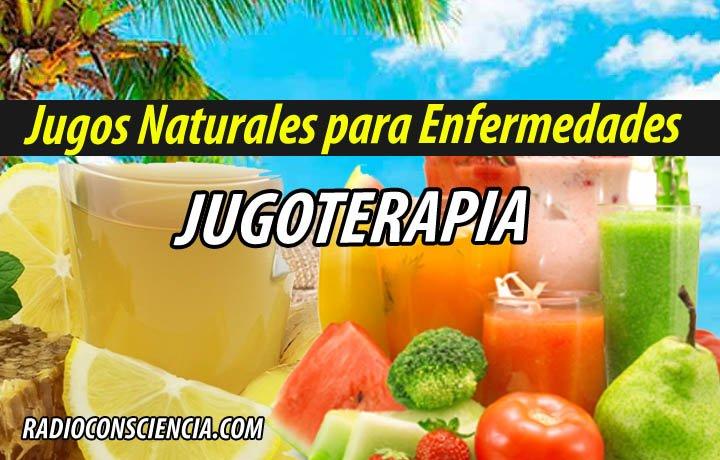 Jugos Naturales para MEDICINA JUGOTERAPIA