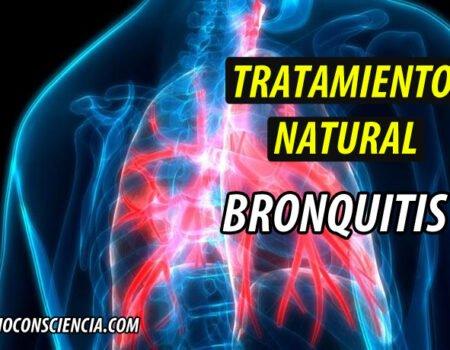 TRATAMIENTO NATURAL BRONQUITIS BRONQUITIS