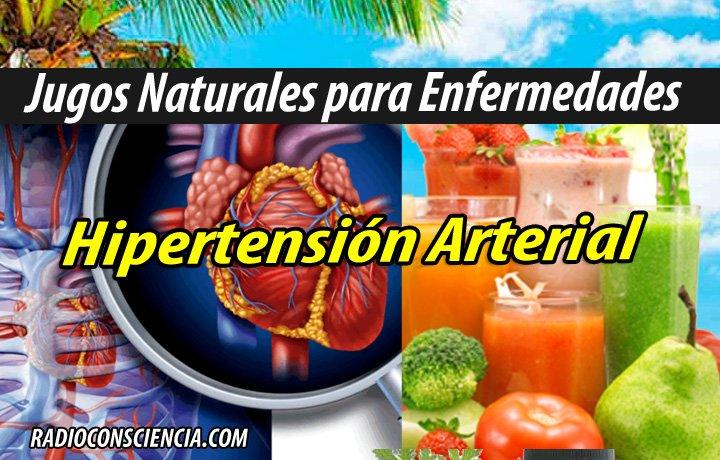 JUGOS PARA Hipertensión Arterial REMEDIOS PLANTAS