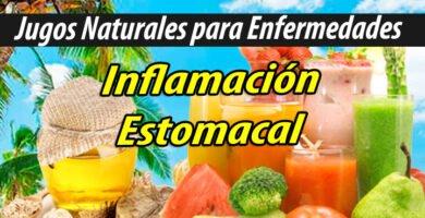 Jugoterapia JUGOS PARA Inflamación Estomacal