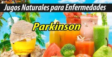 Jugoterapia JUGOS PARA Parkinson