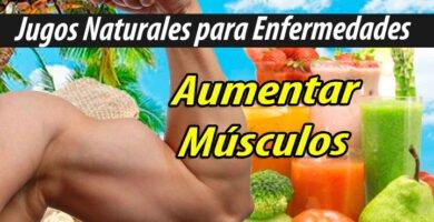 JUGOS PARA aumentar músculos masa