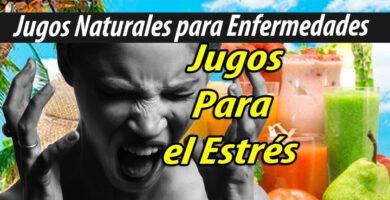 Jugoterapia JUGOS PARA estres jugoterapia