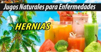 Jugos Naturales para HERNIAS