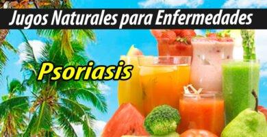 Jugos Naturales para psoriasis