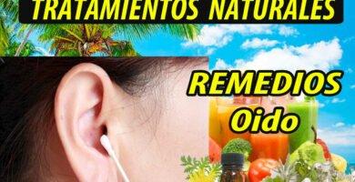 REMEDIOS CASEROS NATURALES OIDO