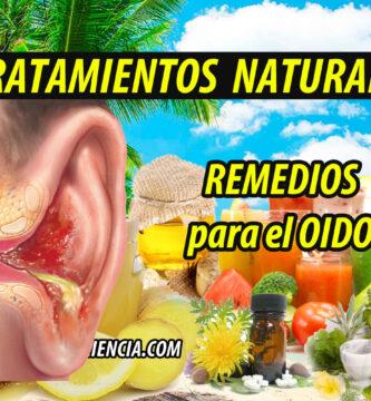 REMEDIOS NATURALES OIDO INFECCIONES SORDERA