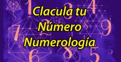 calcula tu numero - numerologia