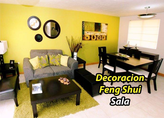 como decorar sala feng shui