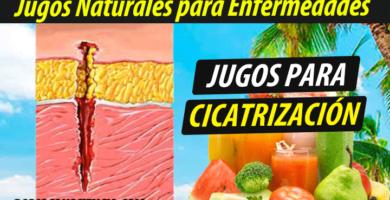 Jugoterapia jugos-para-Cicatrización