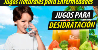 Jugoterapia jugos-para-Deshidratación