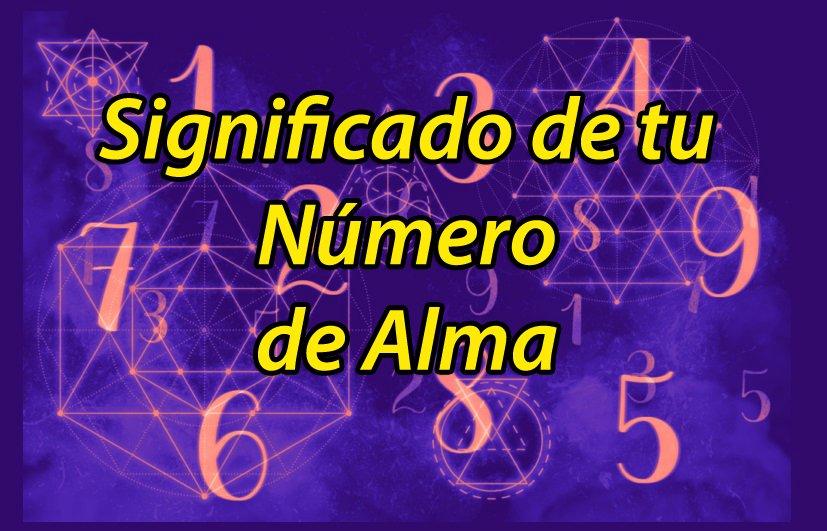 numero alma significado numerologia