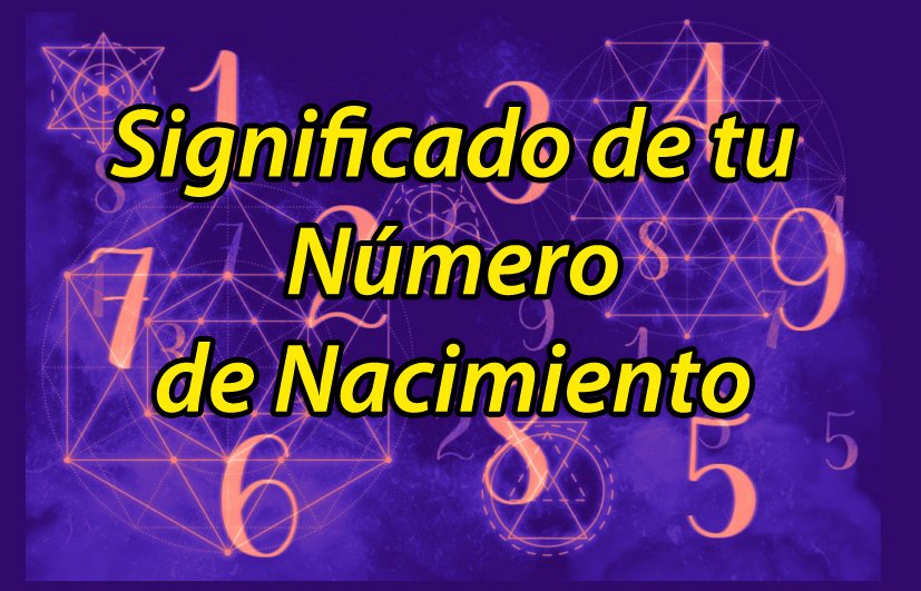 numero de nacimiento numerologia