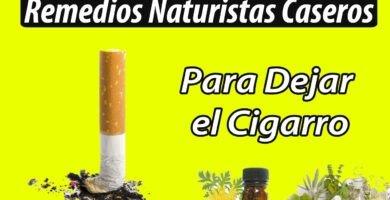 Remedios Caseros para Dejar el Cigarro