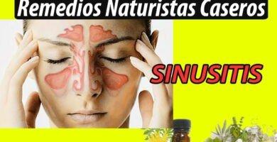 Remedios Naturistas Caseros para la Sinusitis