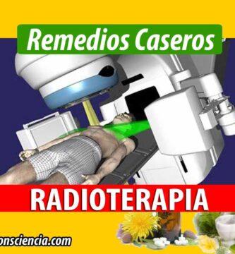Remedio para los efectos de la Radioterapia